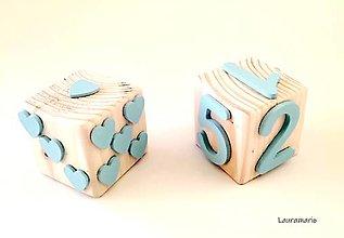 Hračky - Drevené kocky Genius matematicus Duo - 12863023_