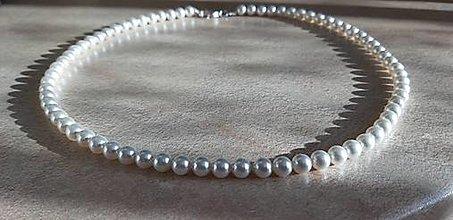 Náhrdelníky - Perlový náhrdelník - 12861940_