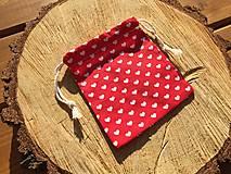 Úžitkový textil - vrecúško srdiečka 1 - 12861646_