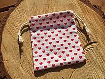 Úžitkový textil - vrecúško srdiečka 2 - 12861688_