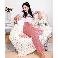 Úžitkový textil - Merino deka 100x140cm - dostupné rôzne farby - 12859603_