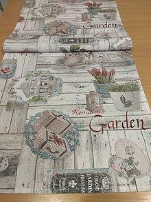 Úžitkový textil - Štóla Gardin - 12866595_