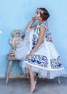 Šaty - Lastovička II - 12865317_