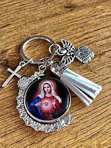 Kľúčenky - Kresťanská kľúčenka podľa želania - 12863781_