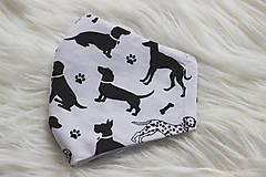 Rúška - Rúško psíky - 12867409_