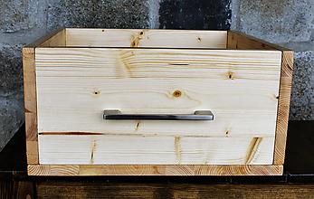 Nábytok - Bednička nové drevo - 12867380_