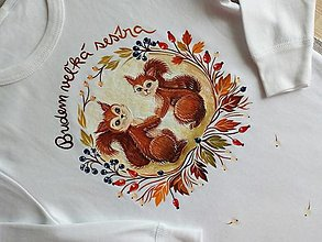 Detské oblečenie - Budem veľká sestra - 12870223_