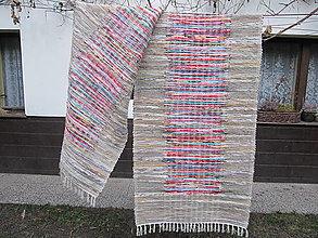 Úžitkový textil - tkaný koberec 70 x 400cm - 12869973_