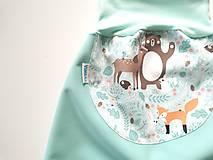 "Detské oblečenie - Softshellky ""winter animals"" - 12870688_"