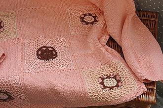 Topy - Pletené. Luxusný top z bavlnenej priadze - 12871232_