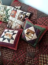 Úžitkový textil - Vankúše/Prehoz Country - 12867616_