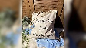 Nákupné tašky - ♥ Plátená, ručne maľovaná taška ♥ - 12867962_