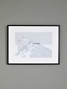 Grafika - Lomnický štít (print) - 12870456_