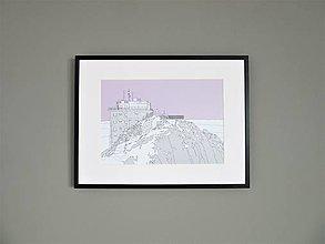 Grafika - Lomnický štít (print) - 12870926_