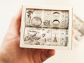 "Papier - Washi Set/10pcs ""vintage coffee"" - 12870445_"