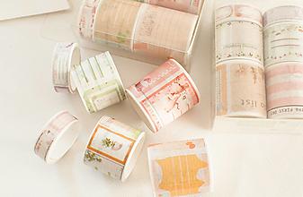 """Papier - Washi Set/6pcs """"jurnal tvorenie"""" - 12870517_"""