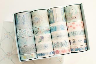 """Papier - Washi Set 20pcs """"babyblue """" - 12870784_"""