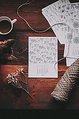 Papiernictvo - Kalendár 2021 - 12871473_