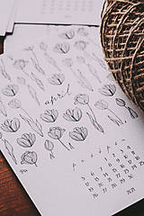 Papiernictvo - Kalendár 2021 - 12871475_