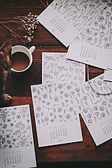 Papiernictvo - Kalendár 2021 - 12871476_