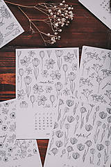 Papiernictvo - Kalendár 2021 - 12871477_