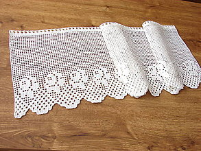 Úžitkový textil - vitrážková záclonka - 12875146_