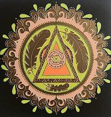 Obrazy - Mandala.. Plynutie v Časopriestore - 12874961_