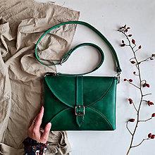 Kabelky - Kabelka Helen (zelená) - 12873119_