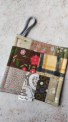 Úžitkový textil - Podložka pod šálku vo vidieckom štýle - 12873031_