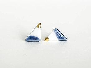 Náušnice - nežná geometria - 12872504_