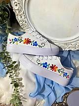 Obuv - ♥ Ručne maľované tenisky ♥ - 12873197_