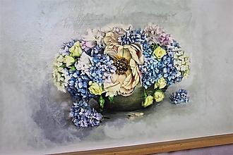 Nádoby - podnos kvety :) - 12874206_