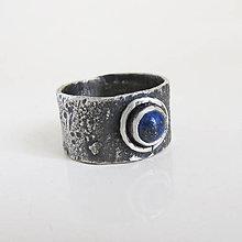 Prstene - September: NileStar / Lapis Lazuli 6mm - 12875204_