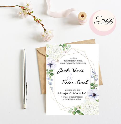 svadobné oznámenie 266