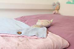 Úžitkový textil - Ľanové obliečky obojstranné - 12875211_