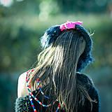Čiapky - Origo ušianka chlpatica kvet - limit - 12876168_