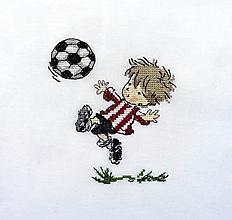 Obrázky - Výšivka - futbalista - 12879239_