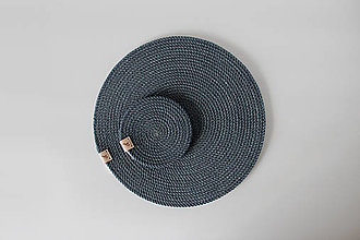 Úžitkový textil - Sada prostírání modrošedá - 12880462_
