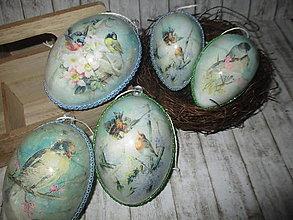 Dekorácie - Veľkonočné vajíčka - 12878042_