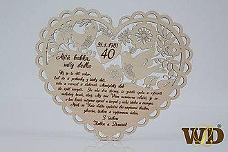 Dekorácie - Výročie svadby 40 - 12877937_