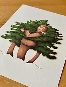 Grafika - V objatí prírody - Print | Botanická ilustrácia - 12878343_