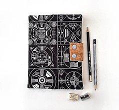 Papiernictvo - Zápisník Monoskopy - A5 - 12876668_