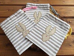 Úžitkový textil - veľkonočné vrecúško - 12879011_