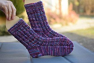 Obuv - farebné ponožky (v.37-39) - 12878252_