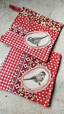 Úžitkový textil - Podložky pod šálku šípkového čaju do červenej kuchyne - 12882220_