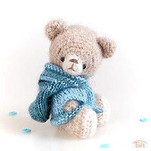 Hračky - mini-medvieďa Emily - 12884093_