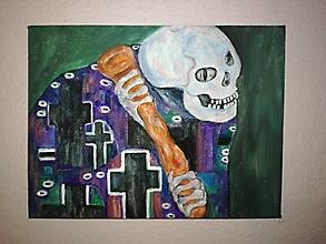 Obrazy - Smrtka - 12884347_