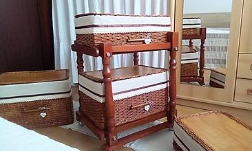 Košíky - Odkladacie koše ANDY (52 x 35, v-20) / ks - 12881487_