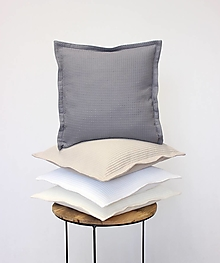 Úžitkový textil - Obliečka waffle STONES - 12888975_