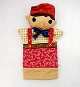 Hračky - Pinocchio - sada maňušiek na ruku - 12889741_